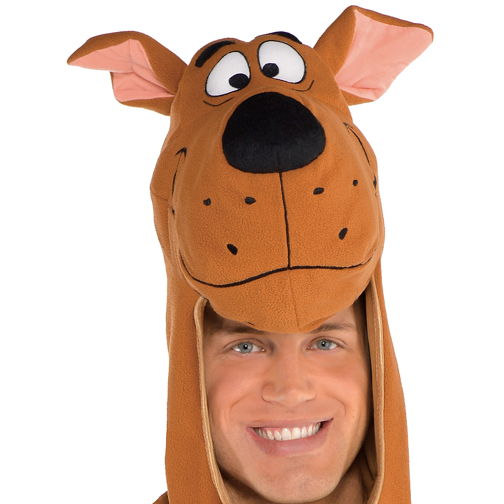 Adult Zipster Scooby-Doo One Piece Costume Image #2