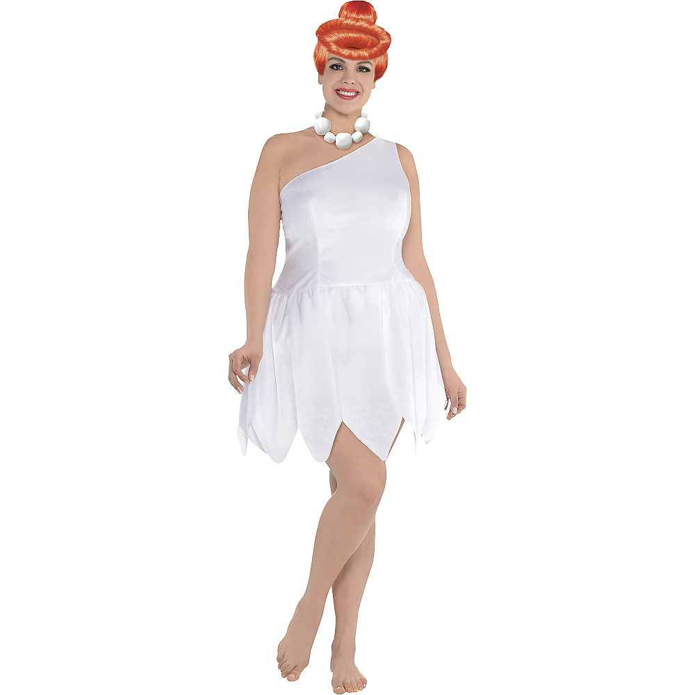 Adult Wilma Flintstone Costume Plus Size - The Flintstones Image #1