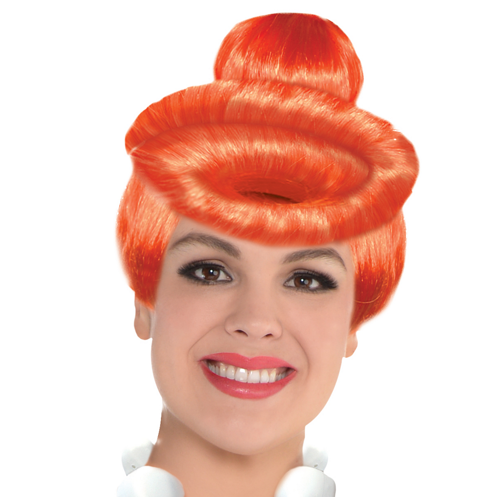 Nav Item for Adult Wilma Flintstone Costume Plus Size - The Flintstones Image #3