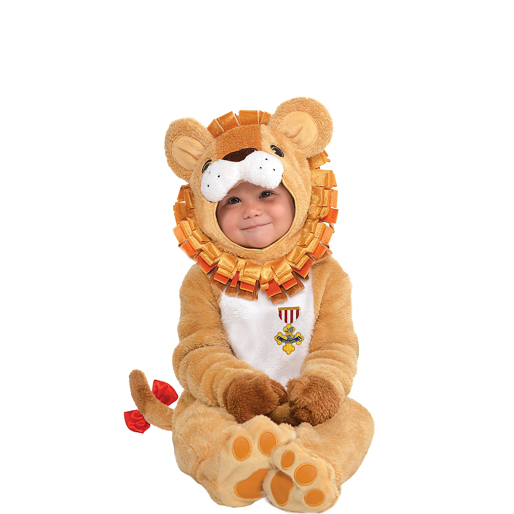 Nav Item for Baby Cowardly Lion Costume - The Wizard of Oz Image #1