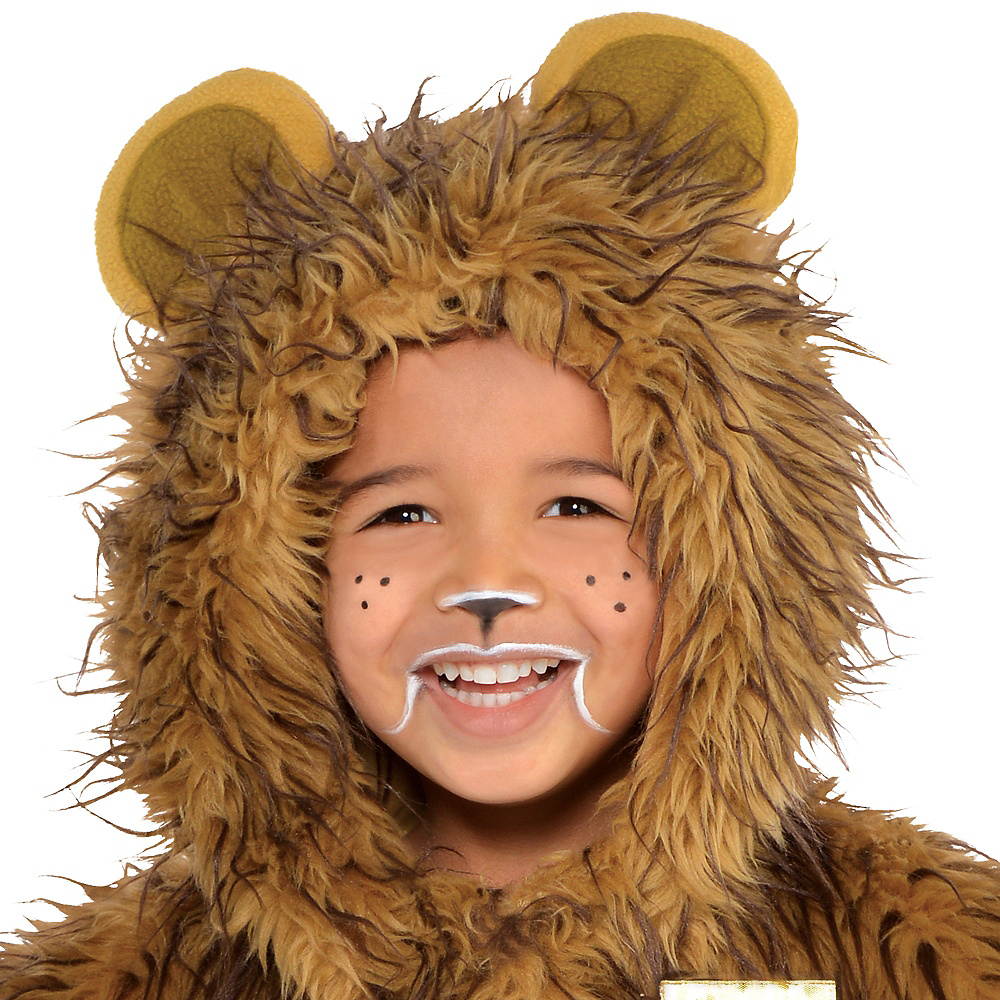 Boys Zipster Cowardly Lion One Piece Costume - The Wizard of Oz Image #2