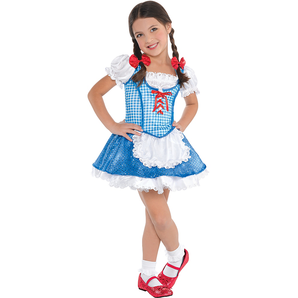 Toddler Girls Dorothy Costume The Wizard Of Oz Party City