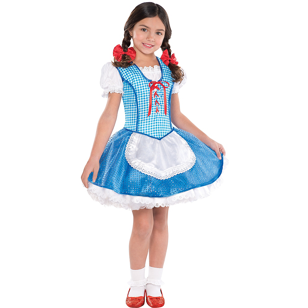 Girls Dorothy Costume The Wizard Of Oz Party City