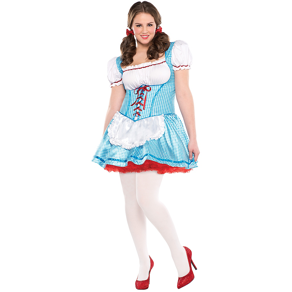 Nav Item for Adult Dorothy Costume Plus Size - The Wizard of Oz Image #1