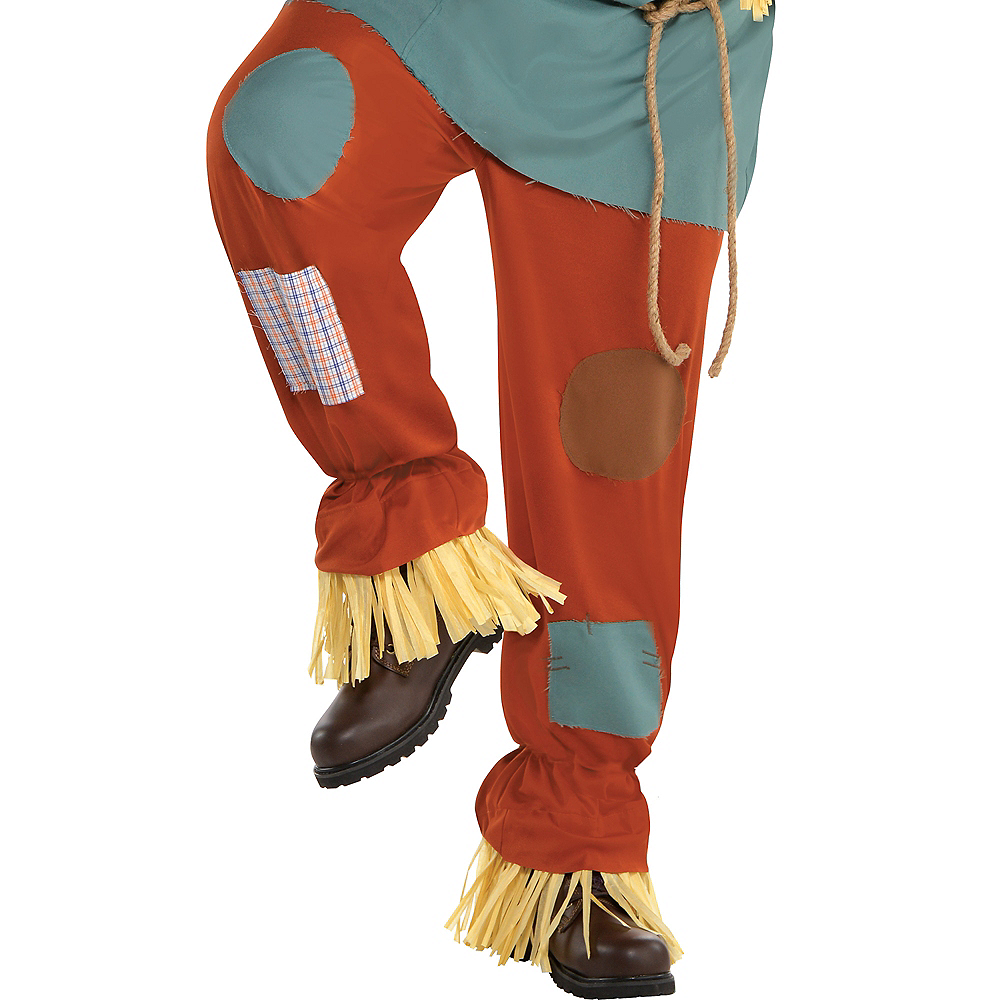 Adult Scarecrow Costume Plus Size - Wizard of Oz Image #4