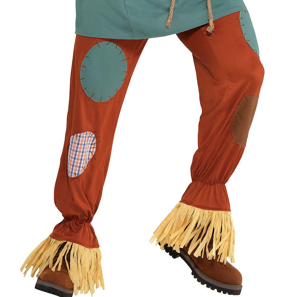 Adult Silly Scarecrow Costume - Wizard of Oz Image #4