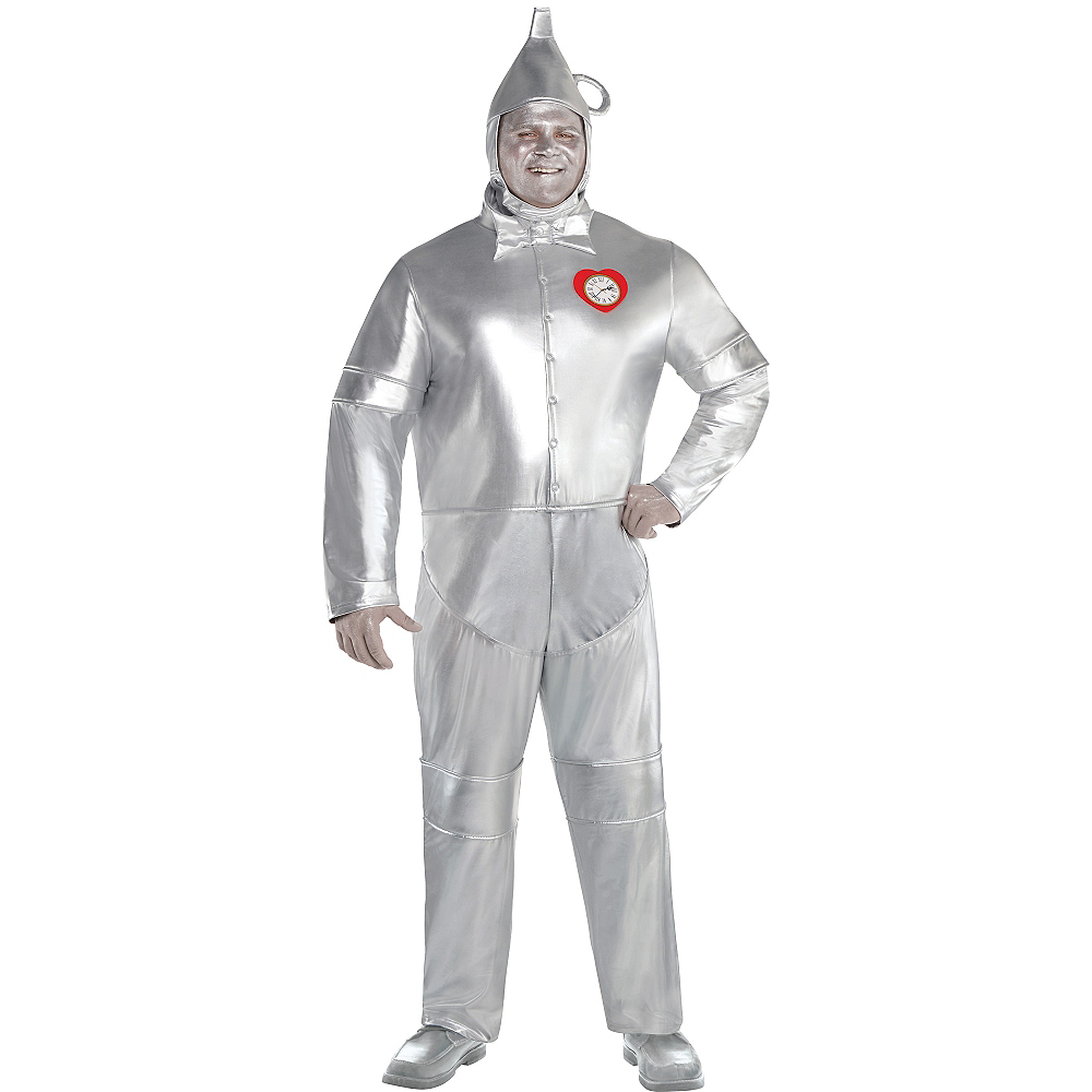 Adult Tin Man Costume Plus Size - The Wizard of Oz Image #1