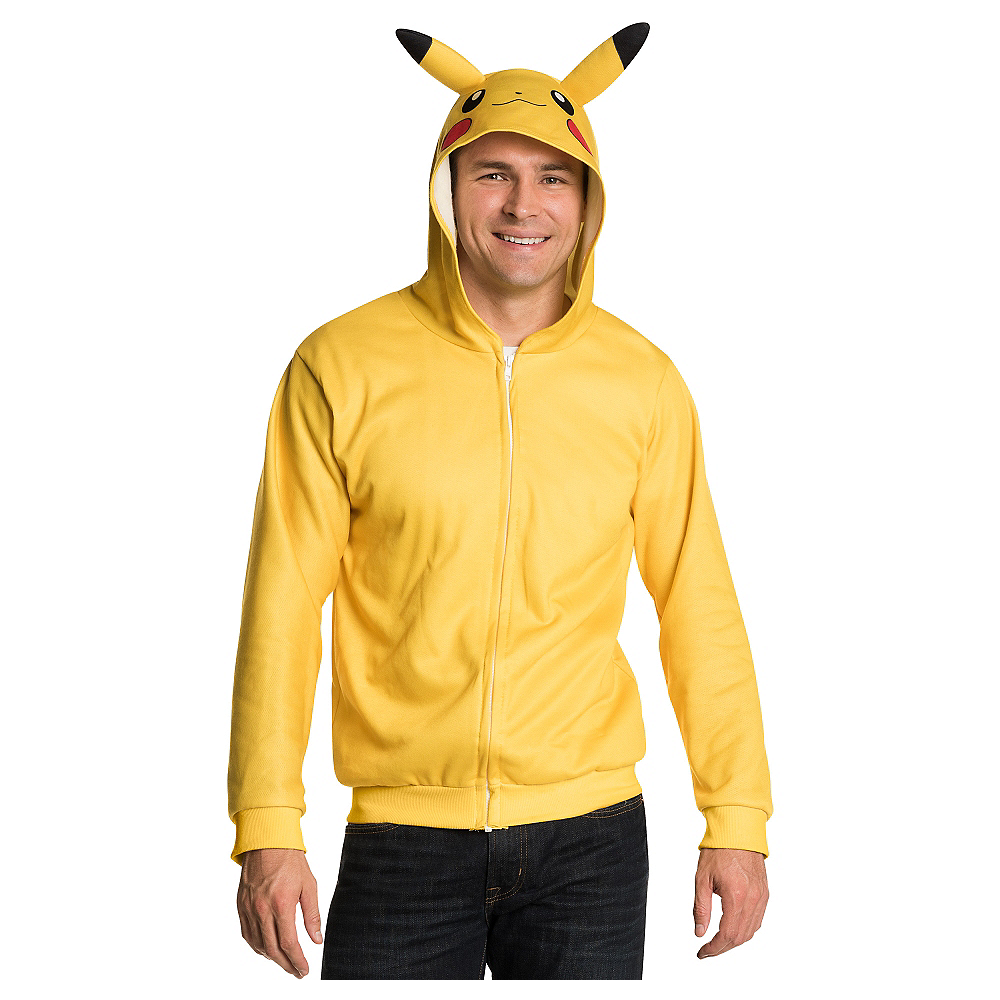 Pikachu Zip-Up Hoodie - Pokemon Image #1