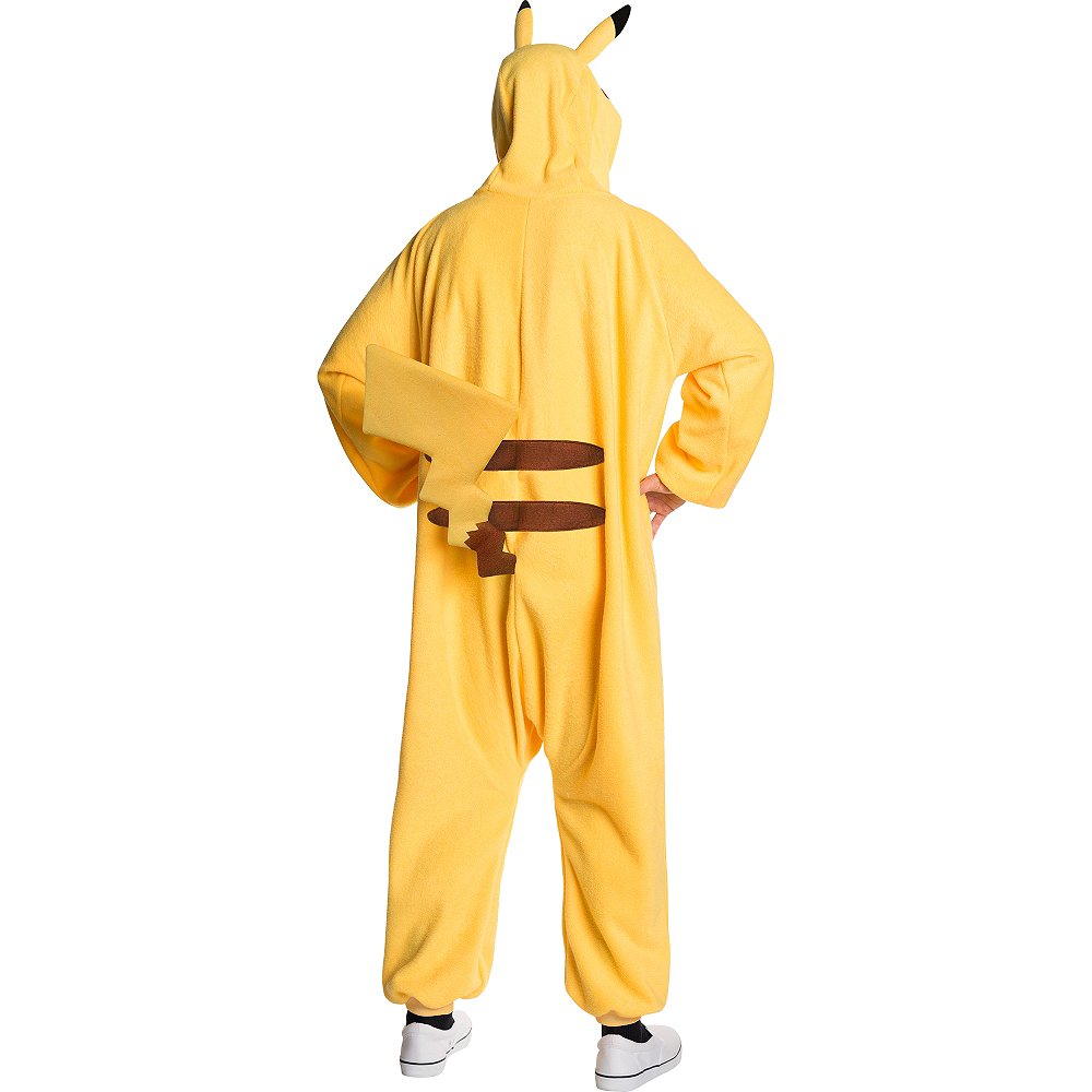 Nav Item for Adult Pikachu One Piece Costume Image #2