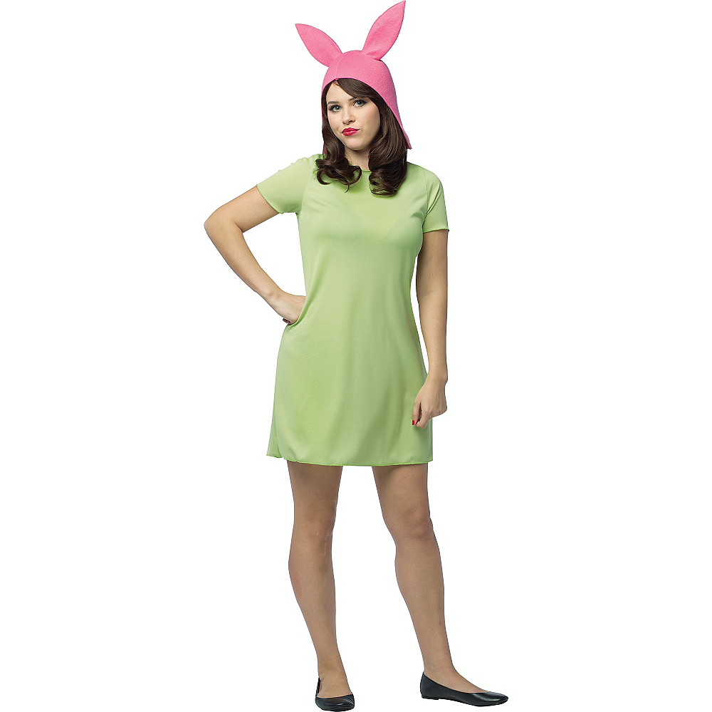 Nav Item for Adult Louise Costume - Bob's Burgers Image #1