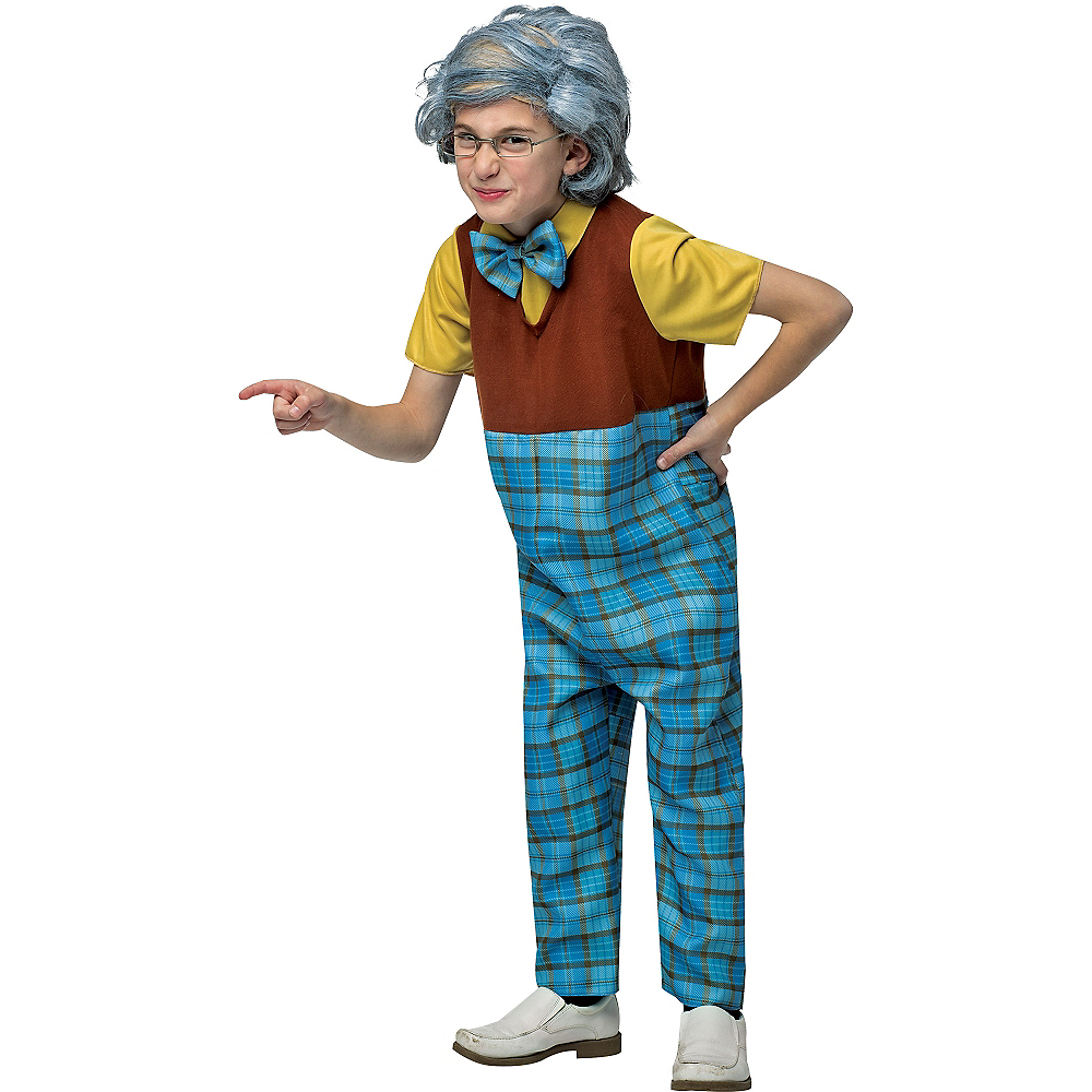 Boys Grandpa Costume Image #1