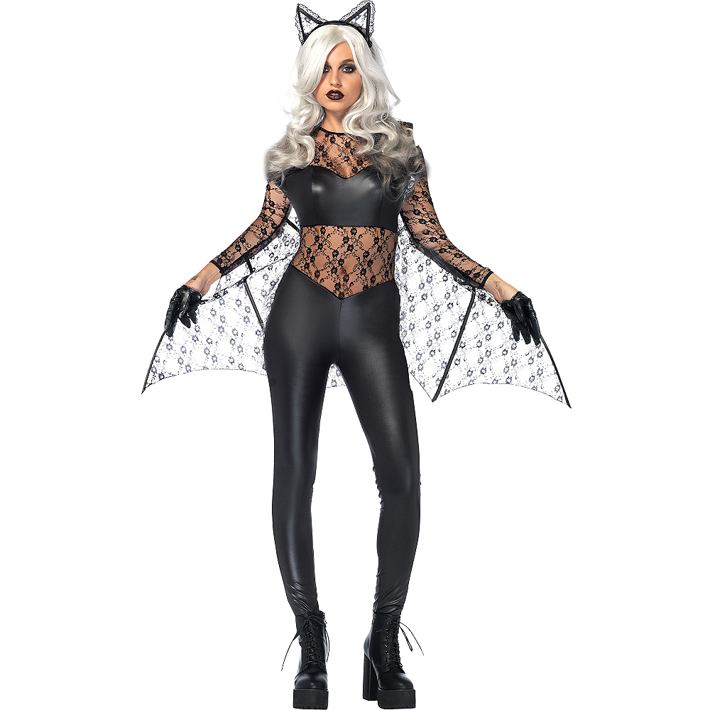 Nav Item for Adult Black Magic Bat Costume Image #1
