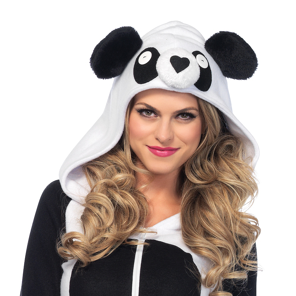 Adult Cozy Panda Costume Image #2