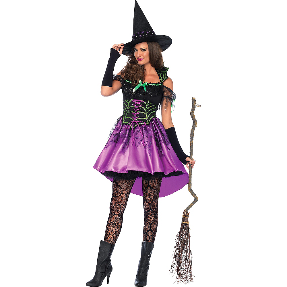 Adult Spider Web Witch Costume Party City