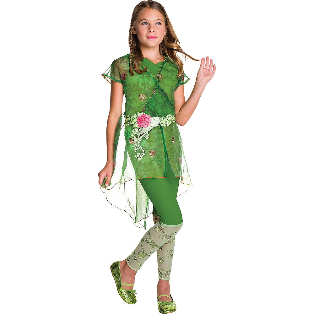 Poison Ivy Costume Girls - DC Super Hero Girls Image #1