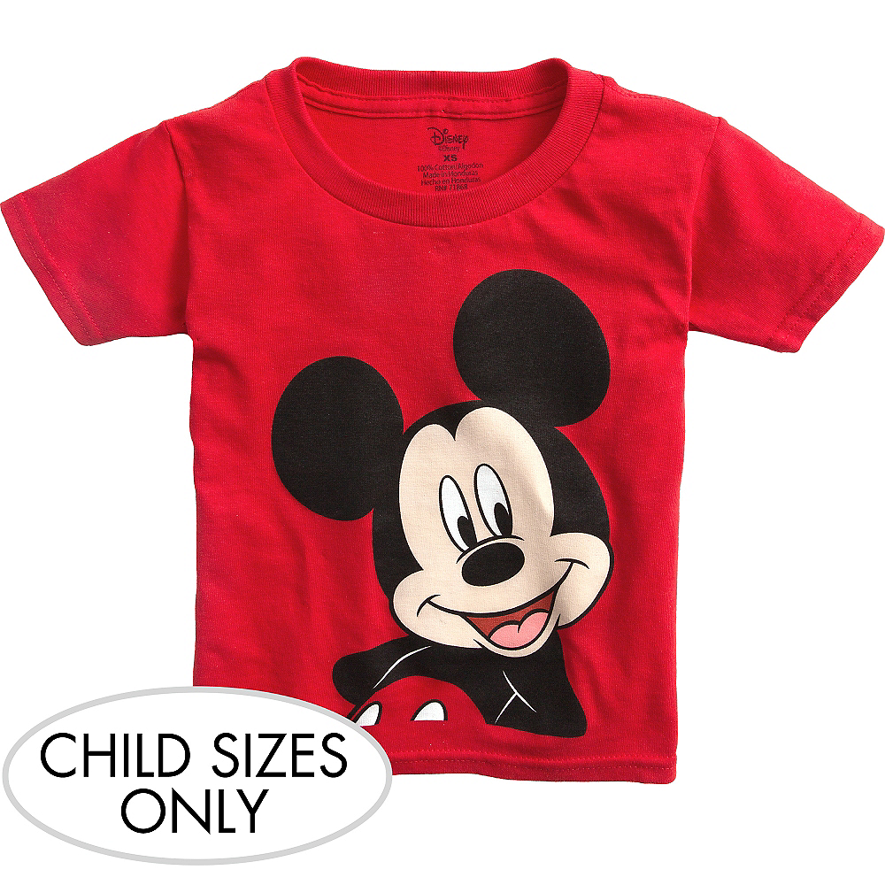 Mickey Mouse 1st Birthday Boy Shirt