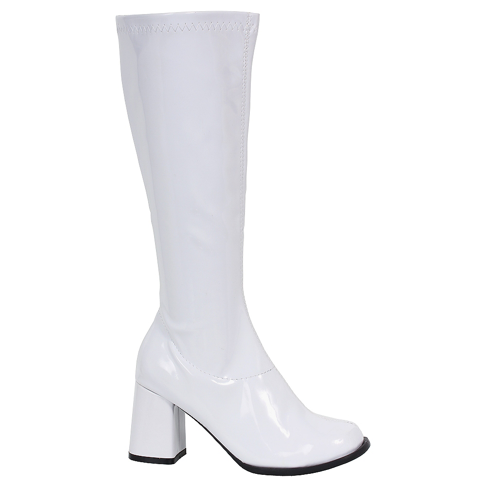 Nav Item for White Go-Go Boots Image #1