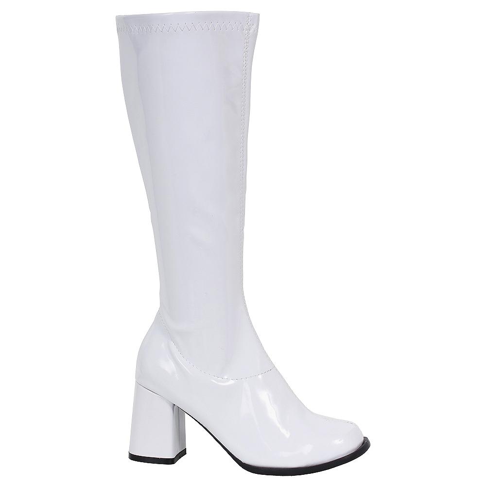 3b58c442239 White Go-Go Boots Image  1