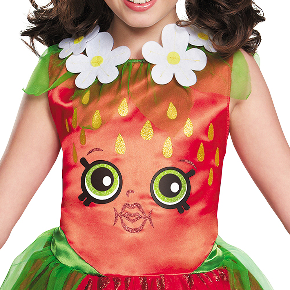 Girls Strawberry Kiss Costume - Shopkins Image #3