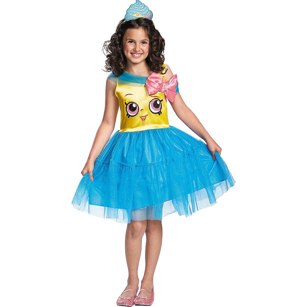 Girls Cupcake Queen Costume - Shopkins Image #1