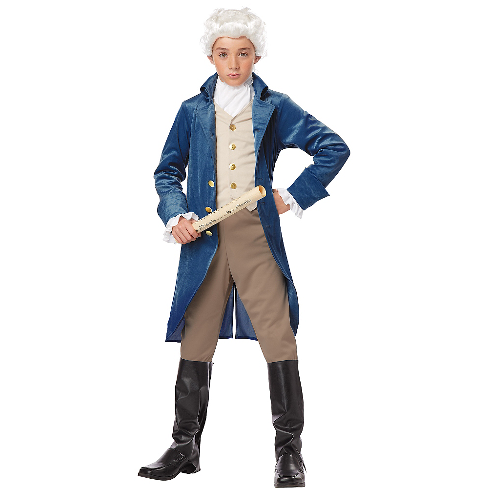 Boys George Washington Costume Image #1