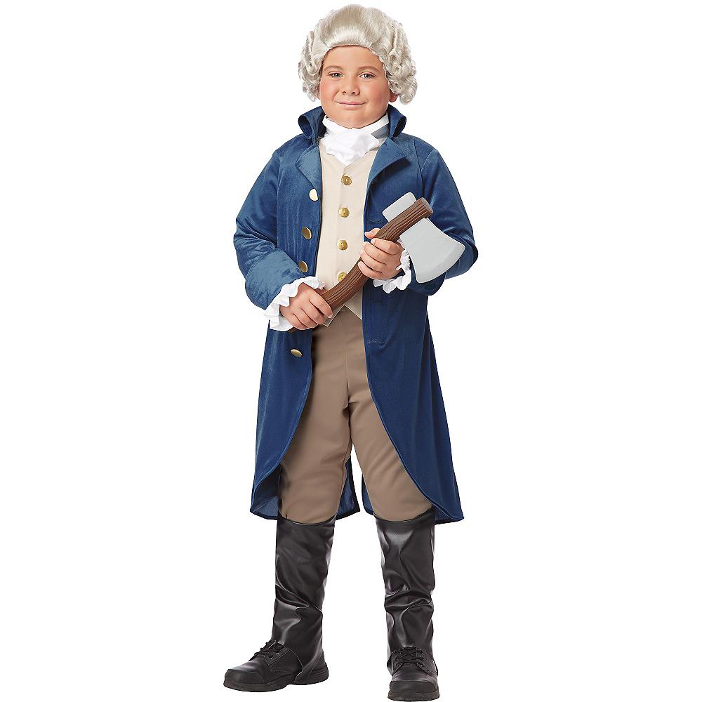 Boys George Washington Costume Image #2