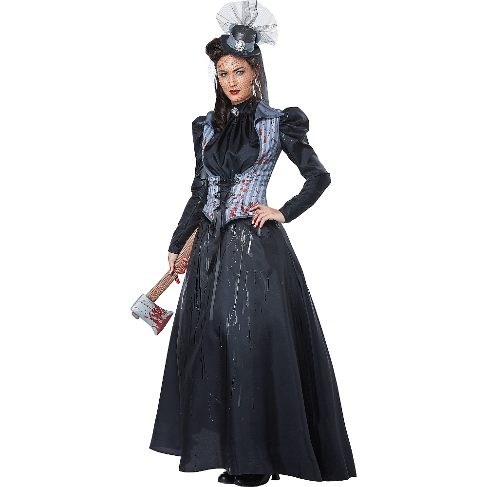 Nav Item for Adult Lizzie Borden Costume Image #1