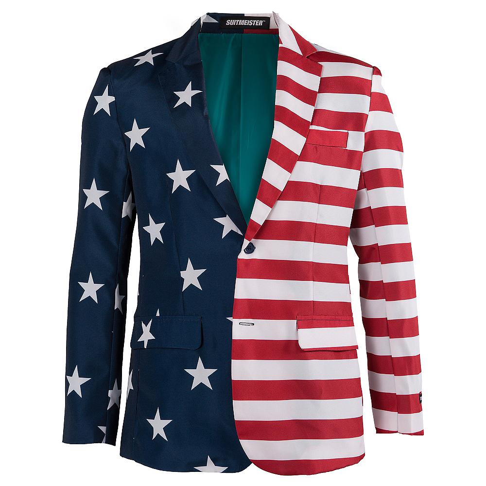 Stars & Stripes USA Suit Jacket Image #1