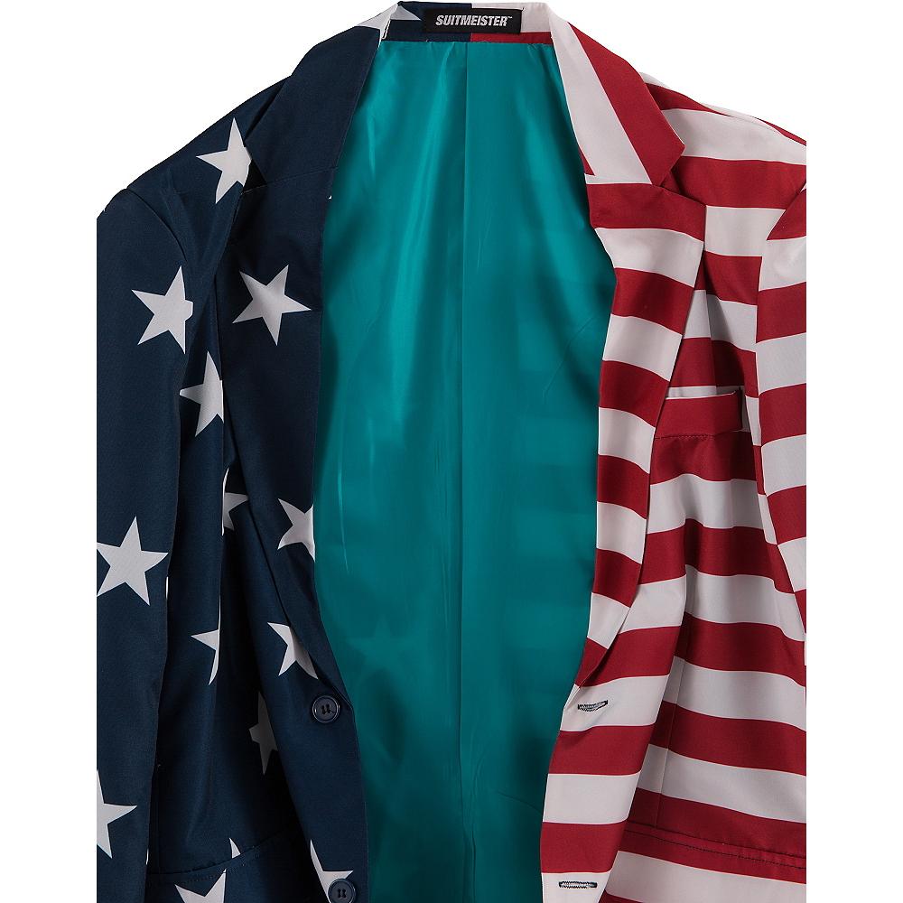 Stars & Stripes USA Suit Jacket Image #2
