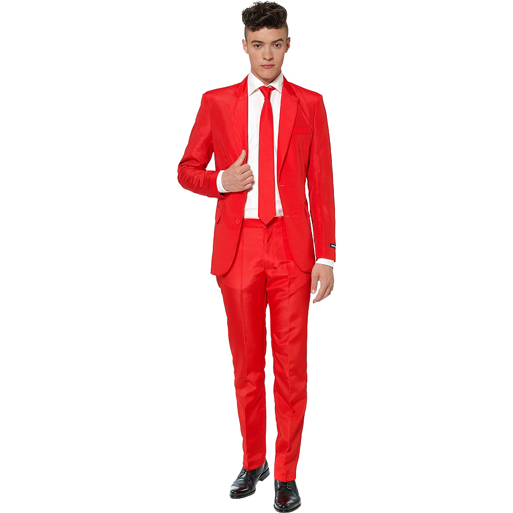 Adult Red Suit Image #1