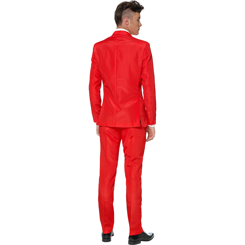 Adult Red Suit Image #2