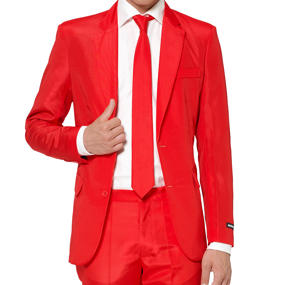 Adult Red Suit Image #3