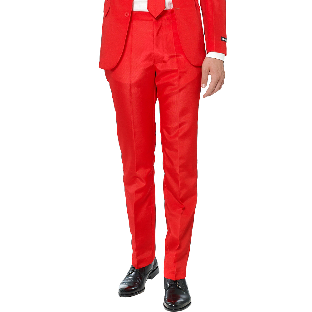 Adult Red Suit Image #4