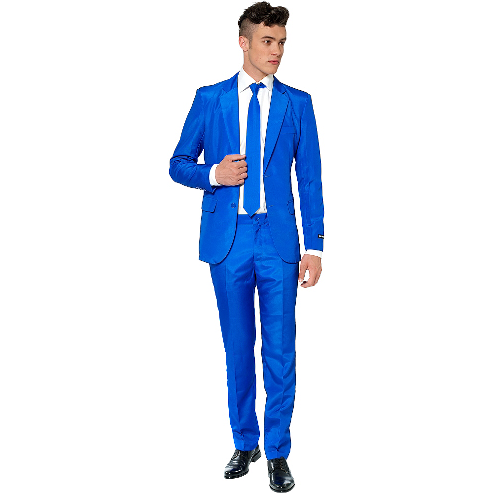 Nav Item for Adult Blue Suit Image #1