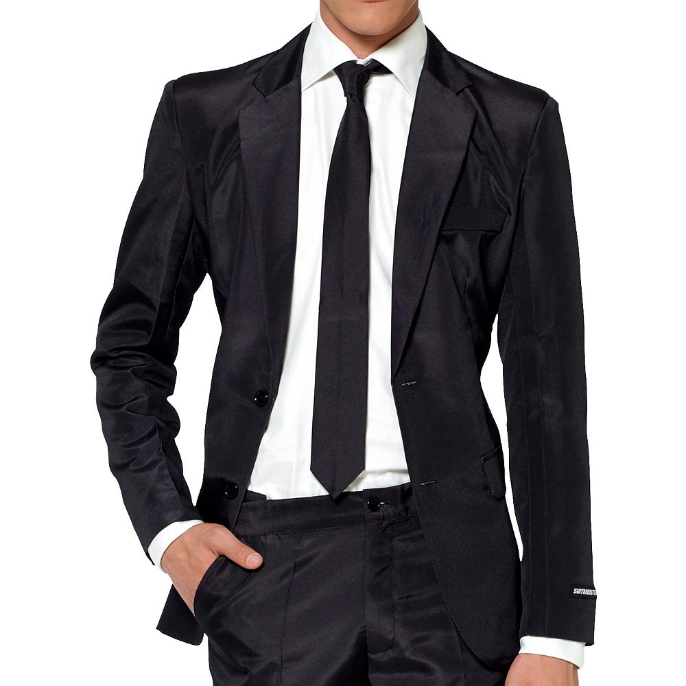 Adult Black Suit Image #3