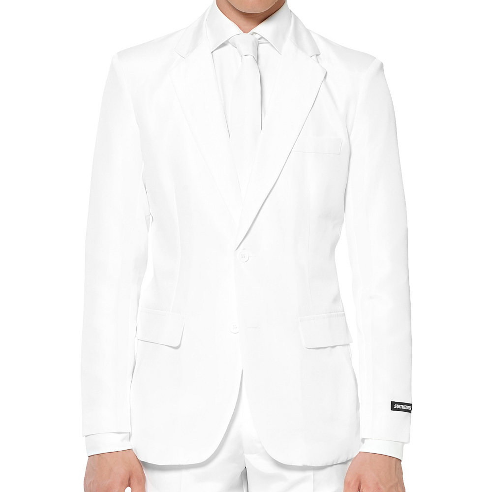 Nav Item for Adult White Suit Image #3