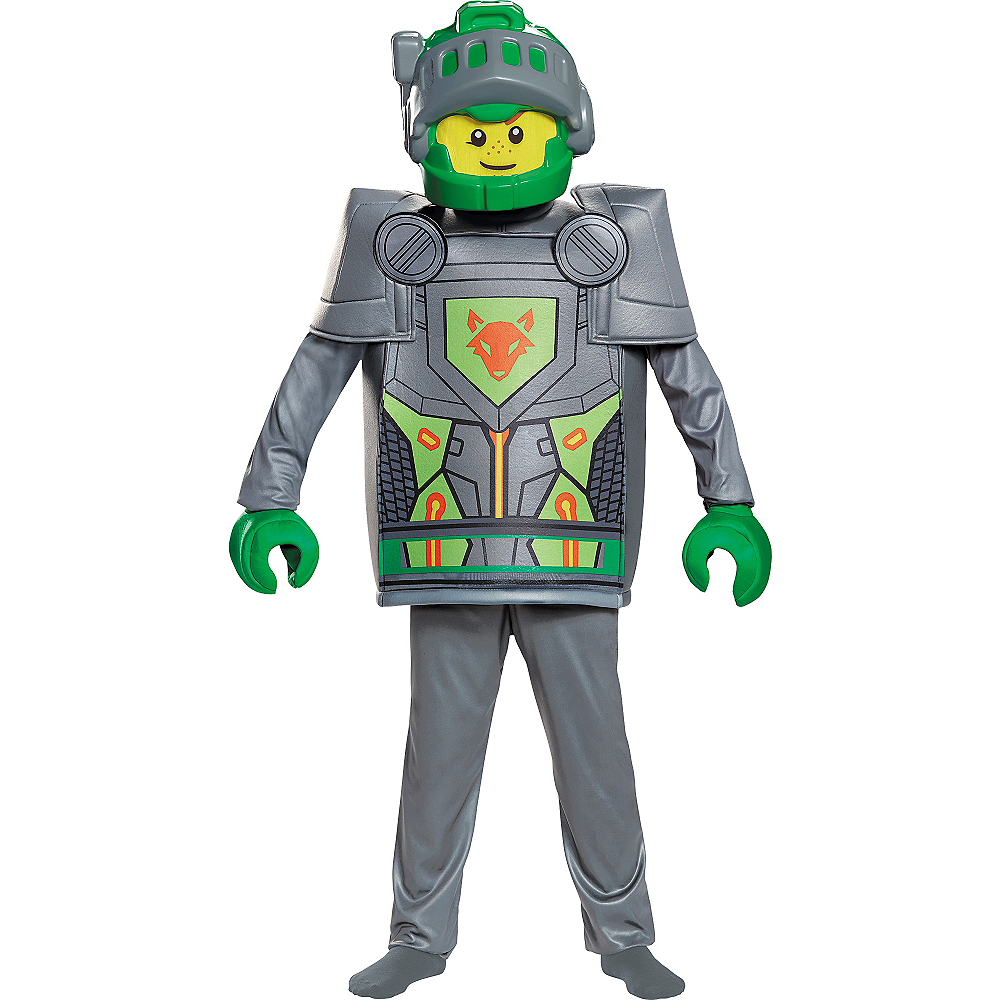 Nav Item for Boys Aaron Costume - Lego Nexo Knights Image #1