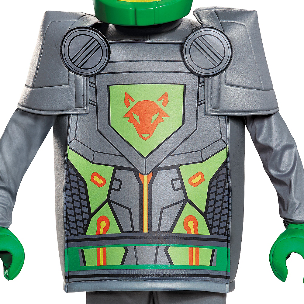 Nav Item for Boys Aaron Costume - Lego Nexo Knights Image #4