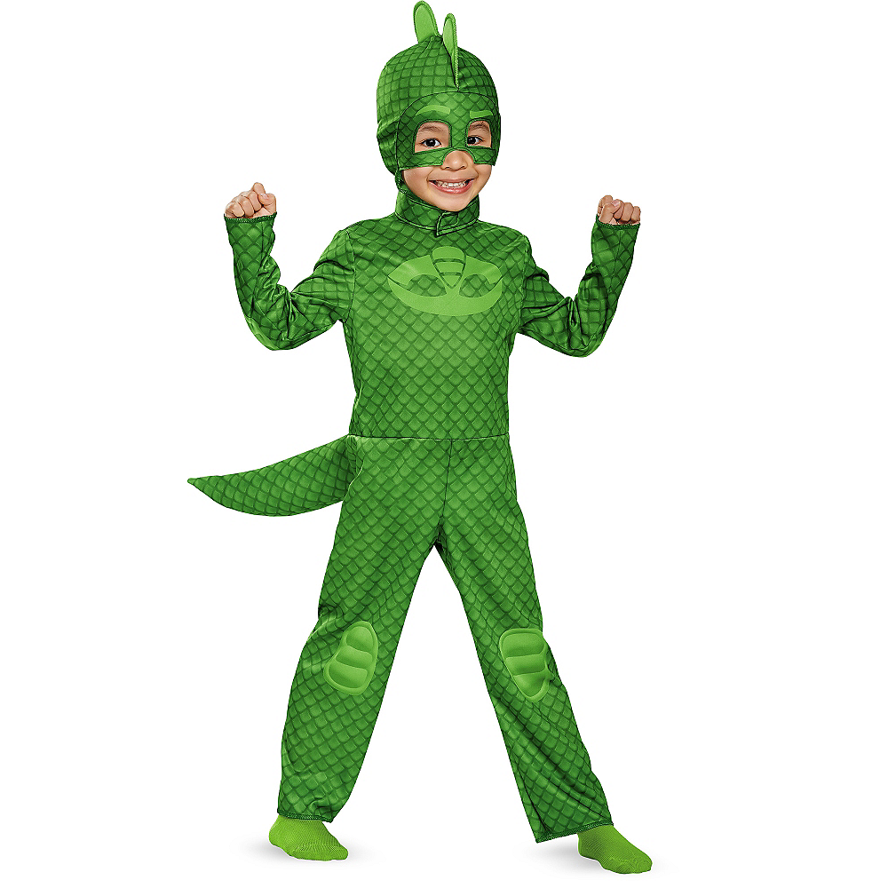Toddler Boys Gekko Costume - PJ Masks Image #1