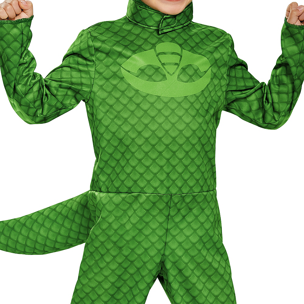 Toddler Boys Gekko Costume - PJ Masks Image #3
