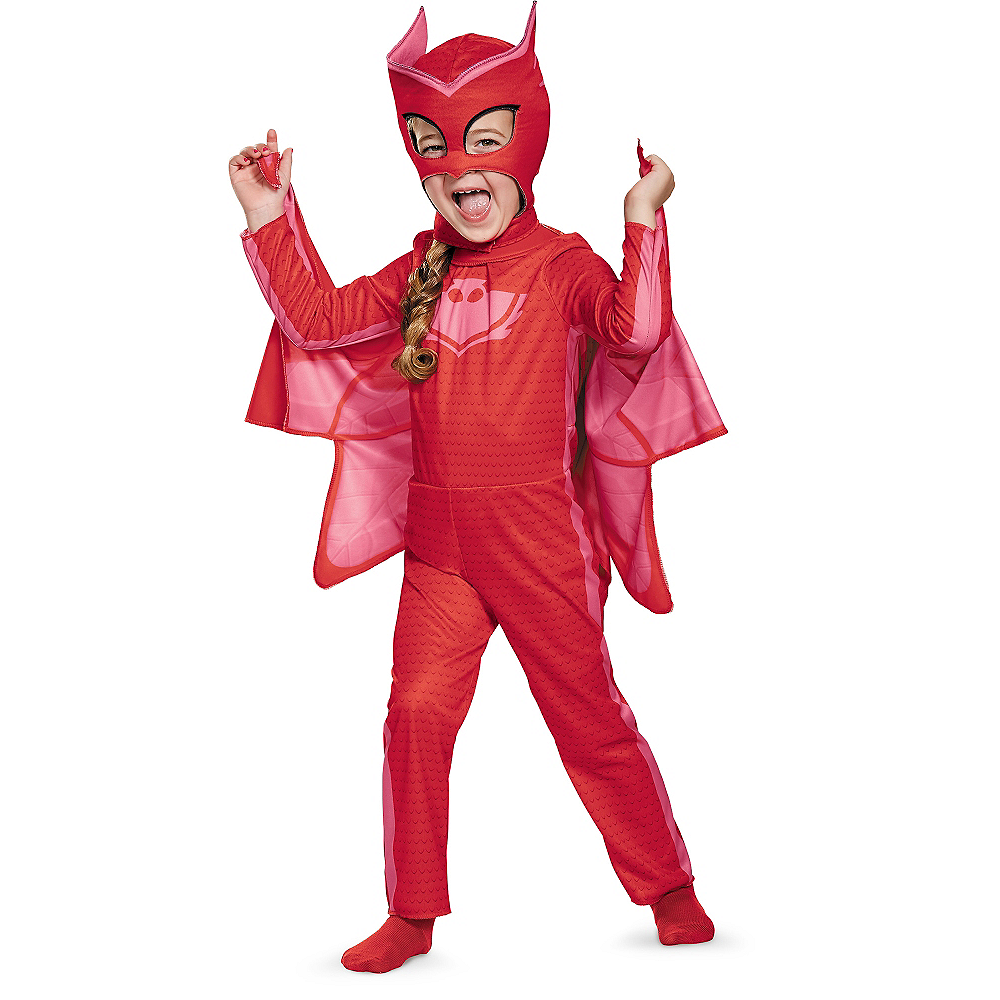 Toddler Girls Owlette Costume - PJ Masks Image #1