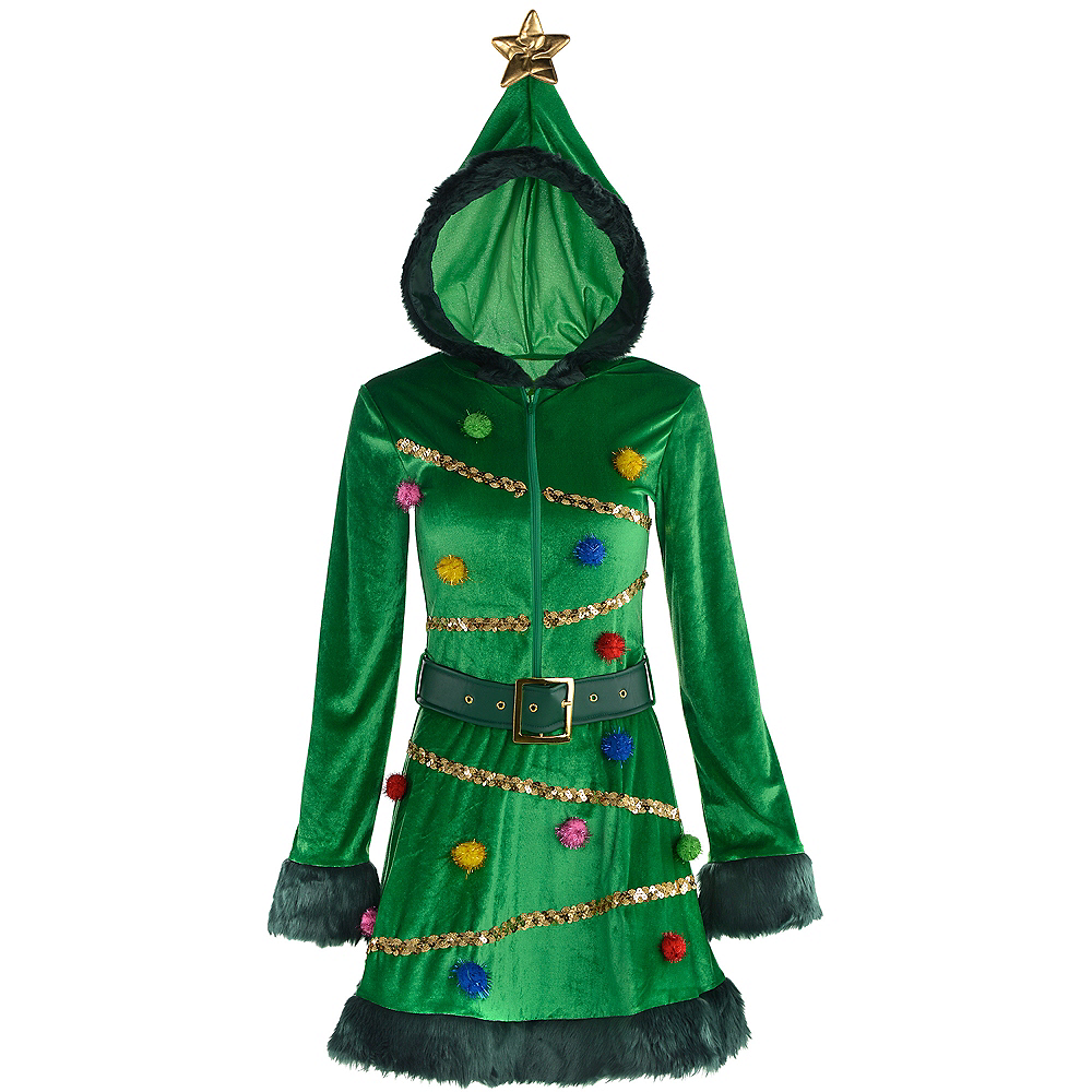 christmas tree dress image 2 - Christmas Tree Dress
