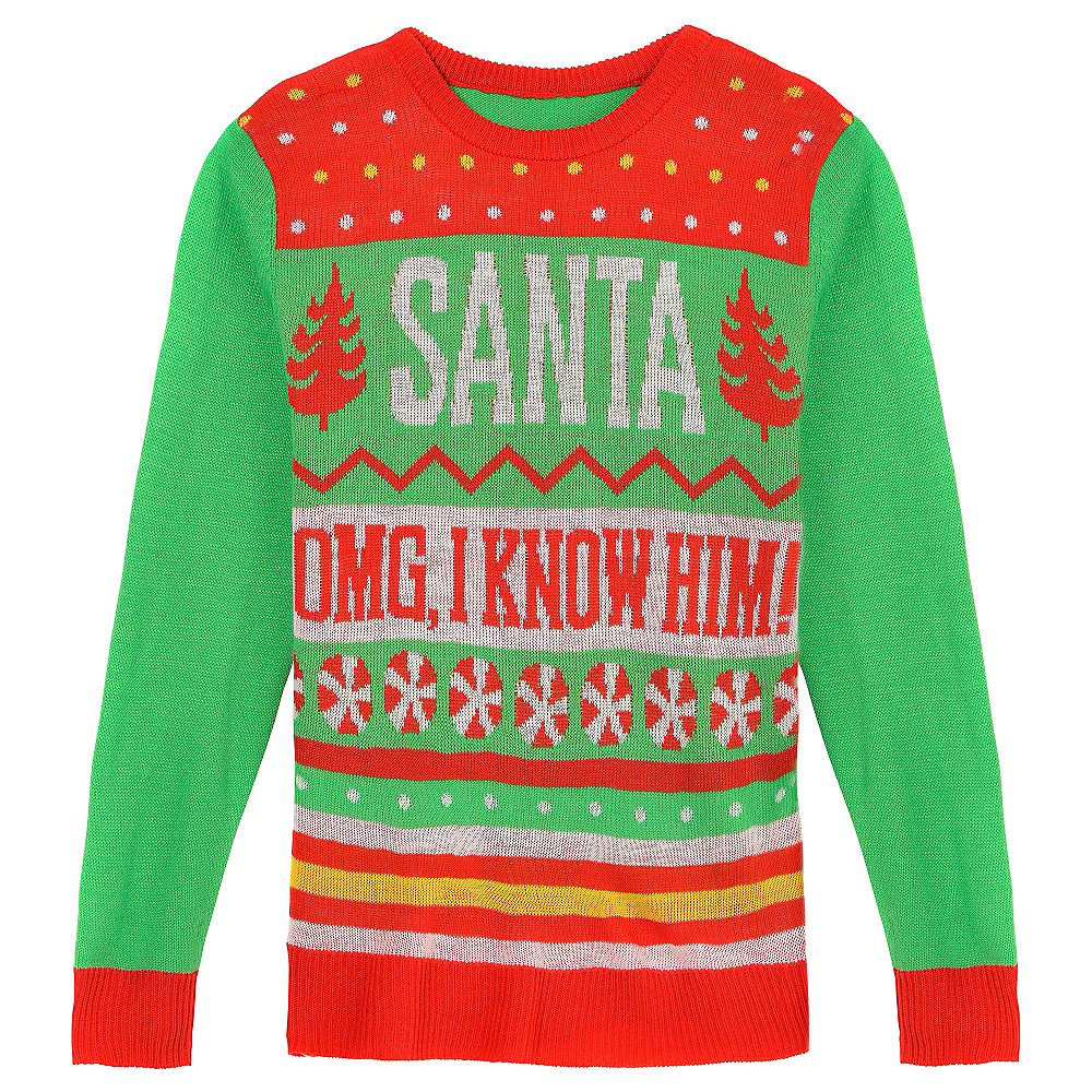 6646f940efd0db Buddy the Elf Ugly Christmas Sweater Image #1 ...