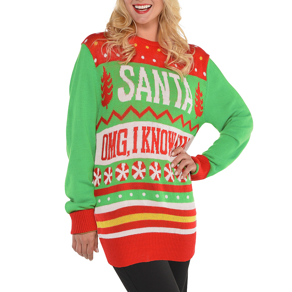 27a8dca936 ... Buddy the Elf Ugly Christmas Sweater Image  2