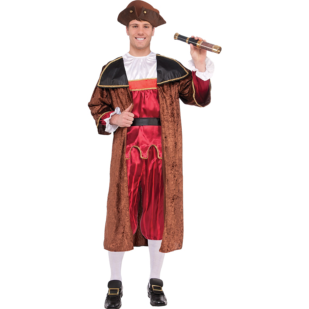 Adult Christopher Columbus Costume Image #1