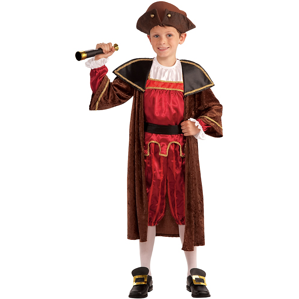 Boys Christopher Columbus Costume Image #1