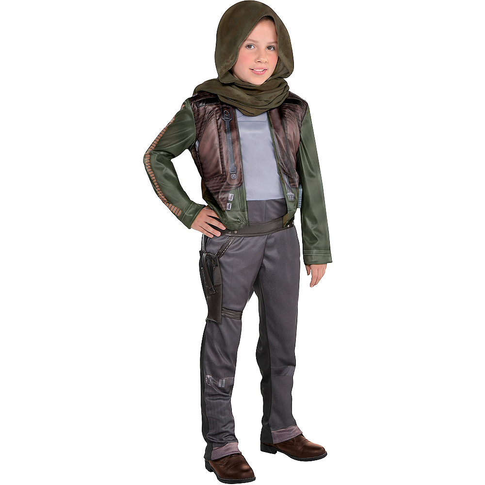 Girls Jyn Erso Costume - Star Wars Rogue One Image #1