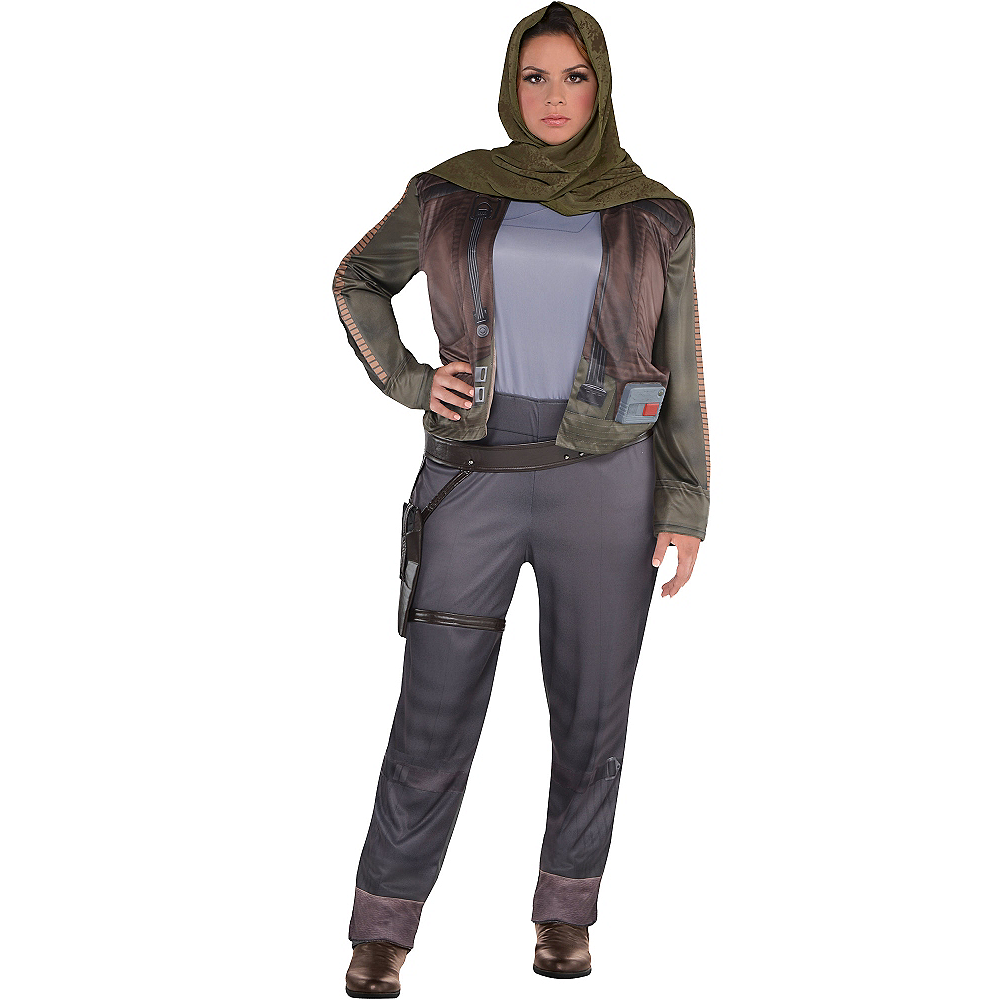 Adult Jyn Erso Costume Plus Size - Star Wars Rogue One Image #1