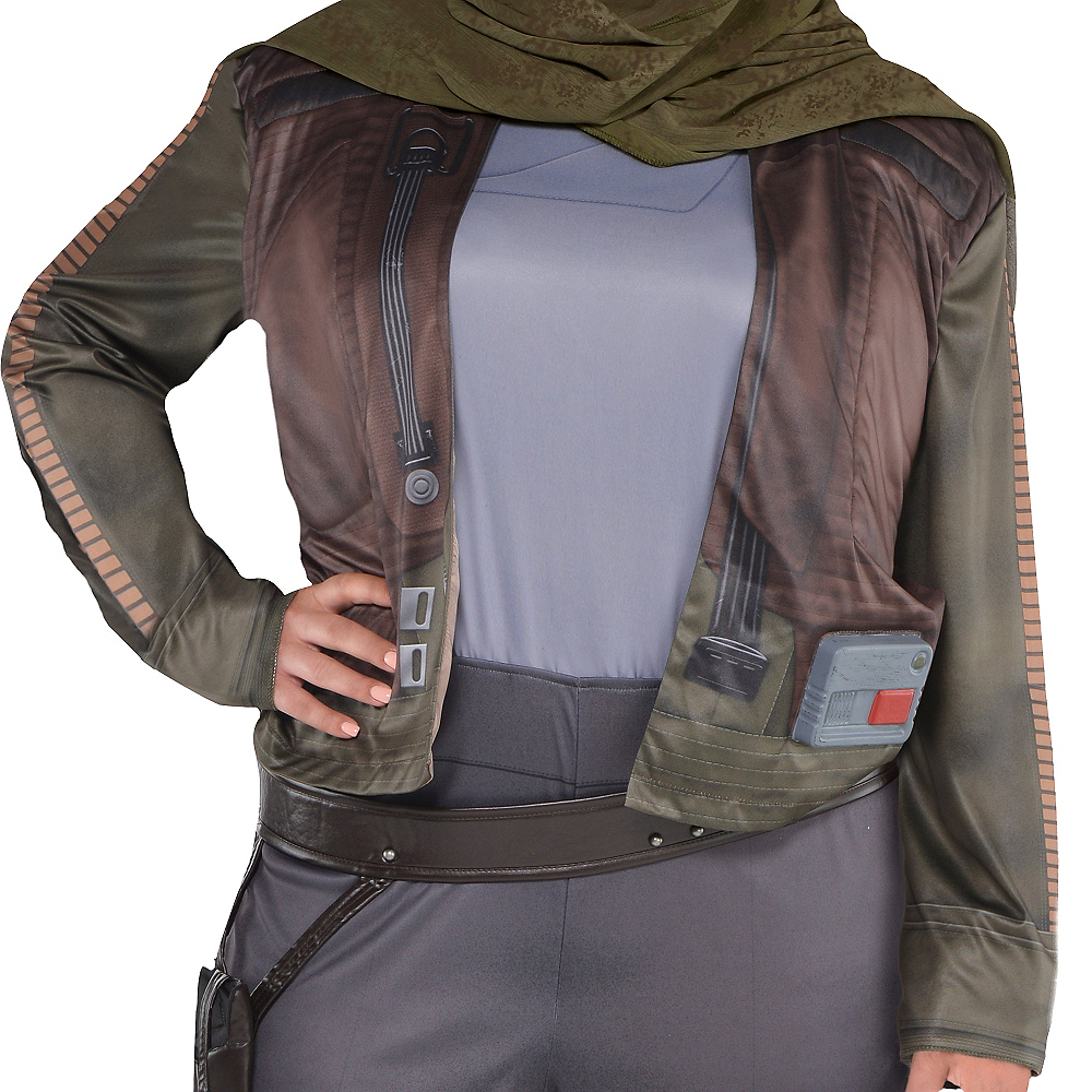 Adult Jyn Erso Costume Plus Size - Star Wars Rogue One Image #2