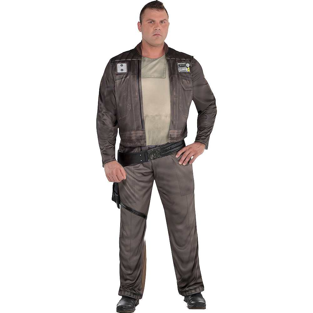 Adult Cassian Andor Costume Plus Size - Star Wars Rogue One Image #1